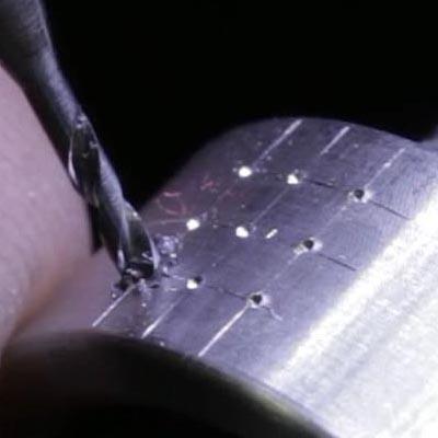 Pave Stone Setting - Drilling Pilot Holes