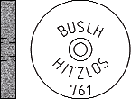 Busch Abrasives Figure 761
