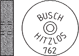 Busch Abrasives Figure 762