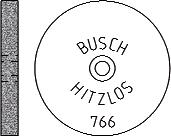 Busch Abrasives Figure 766