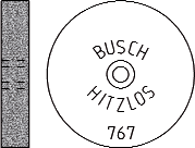 Busch Abrasives Figure 767