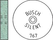 Busch Abrasives Figure 767S