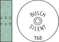 Busch Abrasives Figure 768S