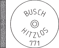 Busch Abrasives Figure 771