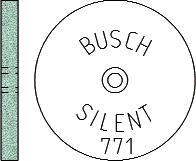 Busch Abrasives Figure 771S