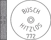 Busch Abrasives Figure 772