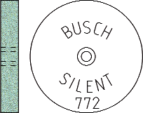 Busch Abrasives Figure 772S
