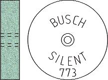 Busch Abrasives Figure 773S