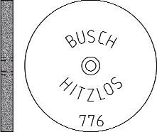 Busch Abrasives Figure 776