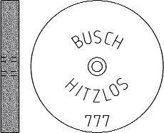 Busch Abrasives Figure 777