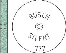 Busch Abrasives Figure 777S