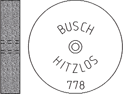 Busch Abrasives Figure 778