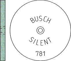 Busch Abrasives Figure 781S