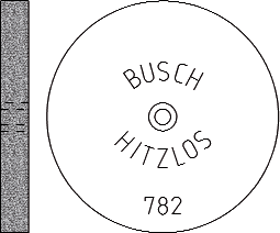 Busch Abrasives Figure 782