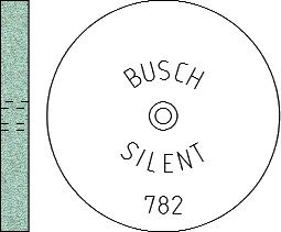 Busch Abrasives Figure 782S