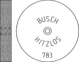 Busch Abrasives Figure 783